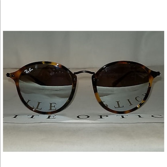 098749350 Ray-Ban - Round Fleck Tortoise, Silver Flare lens.  M_5a986ca09a94556f92d528a6